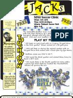 Junior Jacks Newsletter - Oct. 11