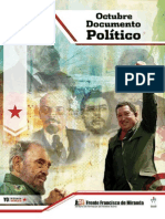 Documento Politico de Octubre