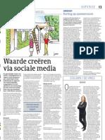 Artikel_Cobouw_Waarde Creeren via Social Media_27092011