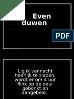 Evenduwen