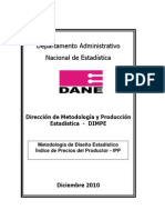 Metodologia Del Diseno Estadistico IPP