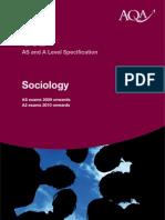 Aqa Sociology Spec