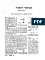 The Anode Follower by Charles P. Boegli