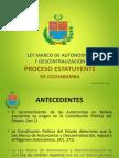 Ley Marco de Autonomías y Descentralización