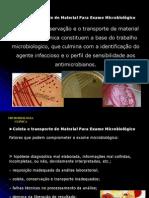 Coleta e Transporte de Material Microbiologico
