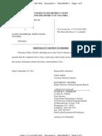 TAITZ v RUEMMLER (USDC D.C.) - 4 - MOTION to Dismiss by KATHY RUEMMLER  - Gov.uscourts.dcd.149529.4.0