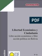 Análisis Nº 11 Libertad Económica y Ciudadanía