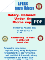 Rotary-Rotaract - Under the Microscope