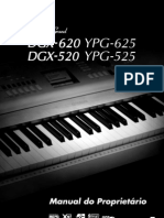 Manual Do Piano DGX 520