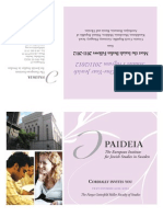 Paideia 2011/2012 Text Courses