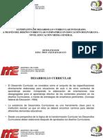 Alternativa de Desarrollo Curricular - Especialista Anjubar Barcelo