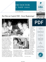 Country Doctor Community Health Centers Fall 2011 Newsletter