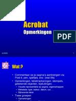 PDF 11 Acrobat Opmerkingen