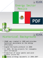 Green Energy Sector - Mexico