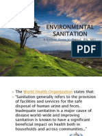 Edvironmental Sanitation