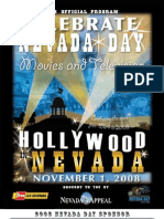 Nevada Day 2008 Official Program