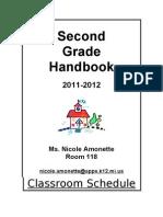 Meet the Teacher Packet 2011 2012