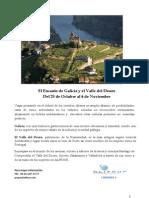 Disfruta del encanto de Galicia y el Valle del Douro con el profesor Víctor Moreno
