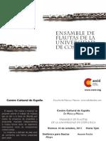 Ensambles de Flautas Eam_UCR
