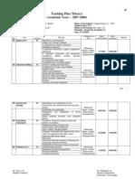 Teaching Plan - CPR FYIF (2007-2008)
