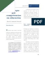 39042008 El Enfoque Por Competencias en Educacion