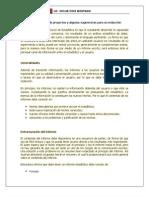 Recomendaciones Elaboracion de Informe