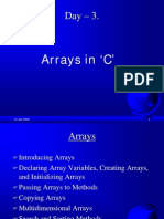 4 Arrays in 'C' PPT