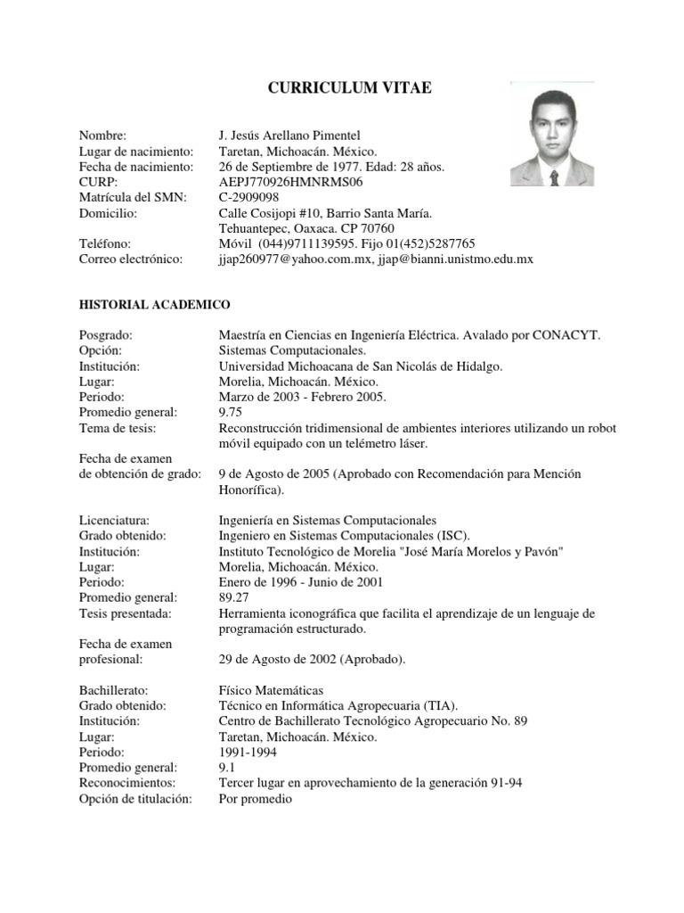 Increíble Muestra De Currículum Para La Aplicación De Posgrado ...