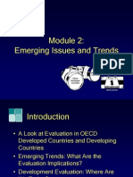 Module2, Emerging Issues and Trends