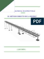 Calculo Matricial - Metodo de La Rigidez