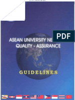 ASEAN University Network Quality Assurance