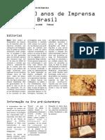200 Anos de Imprensa No Brasil