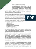 no- LA TRANSFORMACIÓN DE LA ORGANIZACIÓN ESCOLAR