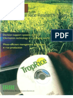 International Rice Research Notes Vol.26 No.2
