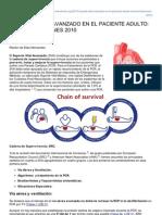 Anestesiar.org-soporte Vital Avanzado en El Paciente Adulto Recomendaciones 2010