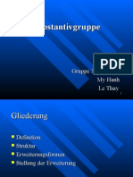 Substantivgruppe