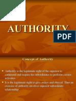 10. Authority