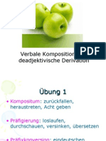 VerbaleKomposition Und Deadj Derivation