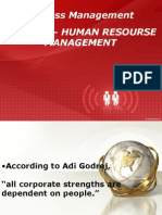 Chapter 3 Fitness Management- HRM