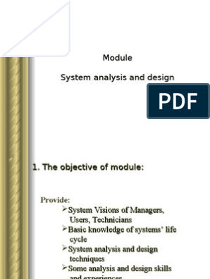 System Analysis And Design Data Model Conceptual Model