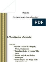 System Analysis and Design