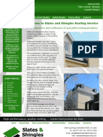 Slates & Shingles Roofing Service 9211489