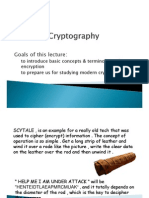 CSE 3043 Week 3 Lecture Cryptography Part 1