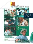 International Rice Research Notes Vol. 27 No.2