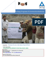 Vaccination & Drenching Program of Livestock in Kohistan Report