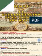 2.- LA REPRESENTACIÓN DE LA TIERRA, LOS MAPAS