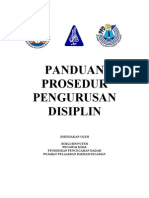 panduan pengurusan disiplin