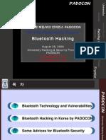 Bluetooth Hacking Padocon