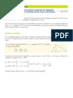 Teorema Del Seno y Del Coseno