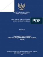 pedoman penyusunan RKPD